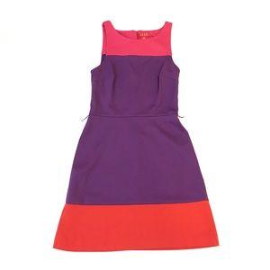 Sleeveless Bold Block Print Tank Dress
